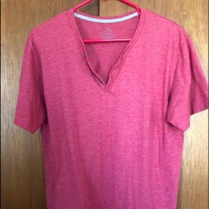 Other - Red Henley shirt